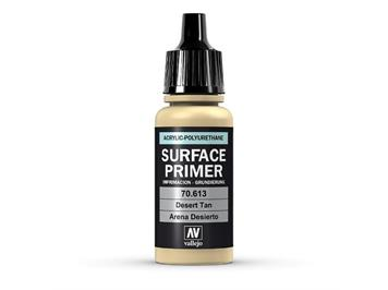 Vallejo 70.613 Model Air 17ml, SURFACE PRIMER DESERT TAN