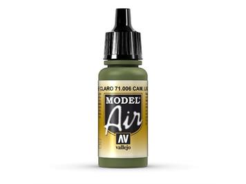 Vallejo 71.006 Model Air 17ml, LIGHT GREEN CHROMATE