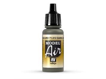 Vallejo 71.012 Model Air 17ml, DARK GREEN