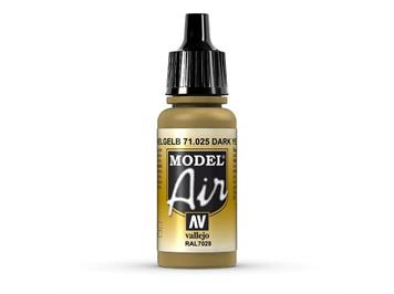 Vallejo 71.025 Model Air 17ml, DARK YELLOW