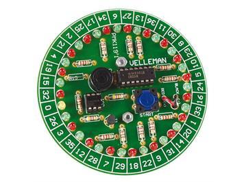 Vellemann-Minikit Roulette MK119 Bausatz zum Löten
