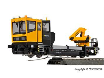 Viessmann 2611 ROBEL Gleiskraftwagen 54.22, für Dreileitersysteme AC, digital mit Sound