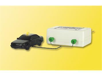 Viessmann 5026 Einfachblinkgerät mit einer gelben Glühlampe, 12V / 50mA