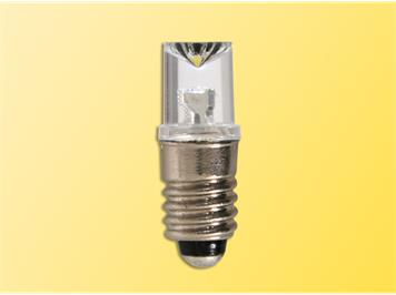Viessmann 6019 LED-Ersatzleuchten mit Gewindefassung E5,5 (weiss, 5 Stk.)