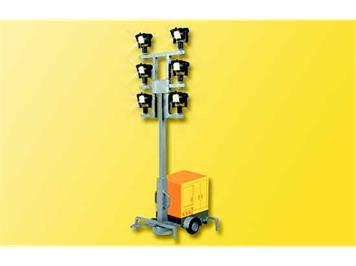 Viessmann Leuchtgiraffe auf Anhänger mit LED