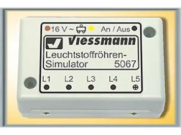 Viessmann Zündmodul für Leuchtstoffröhren-Simulator