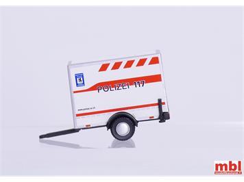 VK Modelle 04282 Einachsiger Anhänger Kantonspolizei AR, H0