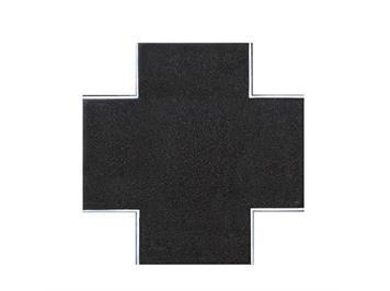 Vollmer 48261 Strassenplatte Asphalt X-Kreuz HO