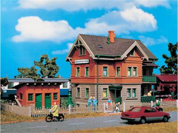 Vollmer Bahnwärterhaus Esslingen HO