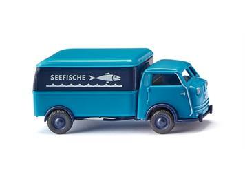 "Wiking 033506 Tempo Matador Kastenwagen ""Seefische"", H0 1:87"