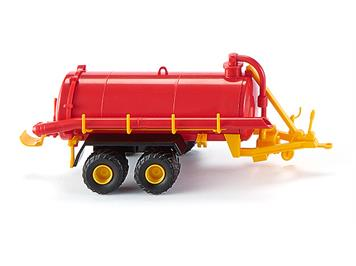 Wiking 038202 Vakuumfasswagen rot/gelb HO
