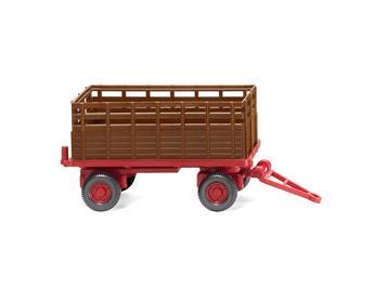 Wiking 038404 Landwirtschaftlicher Anhänger rehbraun