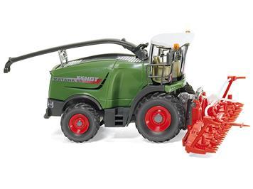 Wiking 038999 Fendt Katana 65 mit Maisvorsatz