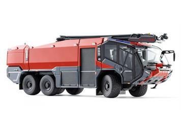 Wiking 043049 FW Rosenbauer FLF Panther 6x6 mit Löscharm