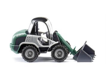 Wiking 065305 Radlader (Kramer) - grün, H0