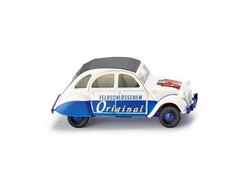 """Wiking 080912 Citroën 2 CV """"Feldschlösschen"""""""