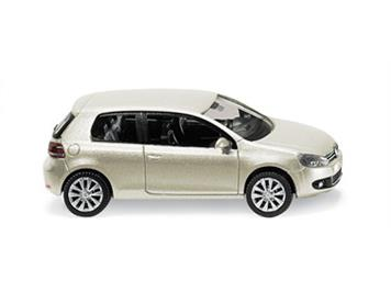 Wiking VW Golf VI 3-Türer silver leaf-metallic HO
