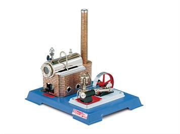 Wilesco 000010 D10 Dampfmaschine mit Dampfkamin