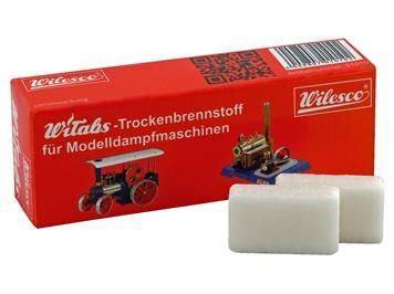 Wilesco 1015 WiTabs Trockenbrennstoff-Tabletten (24 Tabletten à 7 Gramm)