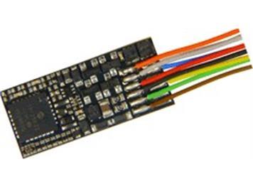 ZIMO MX600 Flachdecoder DCC an Litzen