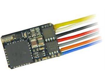 ZIMO MX622 Miniatur-Decoder mit 7 Litzen, 4 Funktionsausgänge
