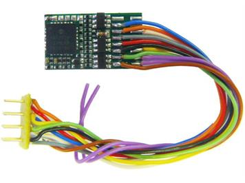 ZIMO MX630R Decoder mit 8poliger NEM-Schnittstelle