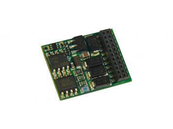 ZIMO MX634D H0 Decoder, 1,2 A, 6 Fu-Ausgänge, 21pol. mtc