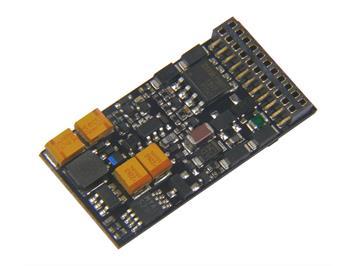ZIMO MX644C Sounddecoder für Märklin-/TRIX-Loks, FA 3 & 4 Logikpegel H0