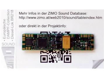 ZIMO MX660 Decoder mit Lötpads