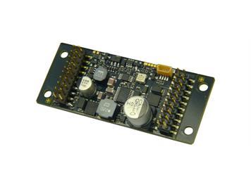 ZIMO MX696V Großbahn-Sound-Decoder (Schmalform), 10 Watt Audio an 4 Ohm, 14 Fu-Ausgänge