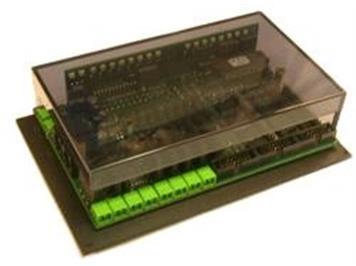 ZIMO MX9B Gleisabschnitt-Modul für 16 Gleisabschnitte (nur Besetztmeldungen)