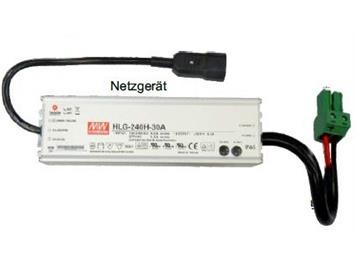 ZIMO NG200 Netzgerät 240 Watt (30V, 8A) Meanwell HLG-240H-30A - 22 x 7 x 4 cm; 1,2 kg
