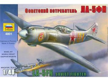Zvezda La-5 Soviet Fighter Lavochkin 1:48