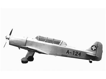 ACE 001551 Pilatus P-2-05 A-124 Silber/Aluminium