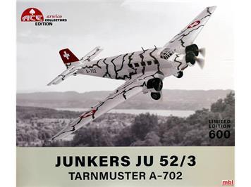 ACE 001559 Junkers JU 52/3 Tarnmuster A-702
