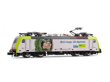 "Arnold 2116 Elektrolok BLS BR 486 Cargo ""Die Alpinisten/Gli Alpinisti"" (Betr.Nr. 505)"