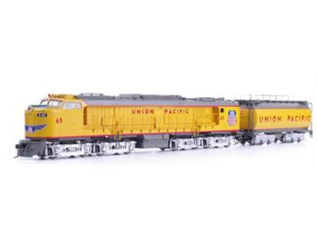 Athearn Union Pacific Veranda Turbine mit Tender #65 HO