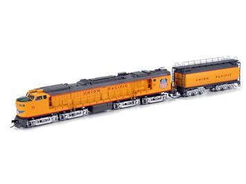 Athearn Union Pacific Veranda Turbine mit Tender #71 HO