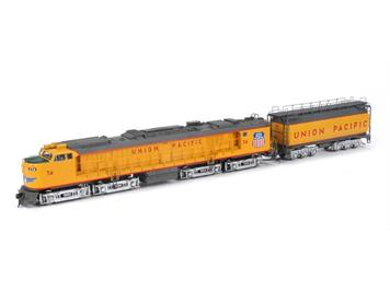 Athearn Union Pacific Veranda Turbine mit Tender #74 HO