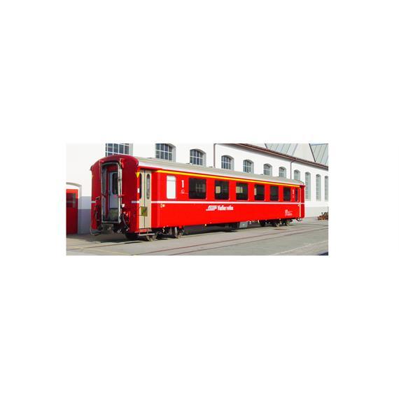 Bemo 3242 130 RhB A 1270 Einheitswagen II rot, dünne Zierlinie