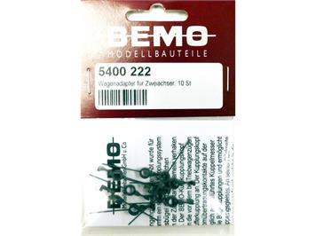 Bemo 5400 222 Kurzkupplung für Zweiachser (10 Stk., Ersatz für 5452 000)