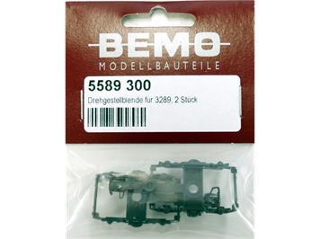 Bemo 5589 300 Drehgestellblende für 3289 zu Panoramawagen GEX, 2 Stück