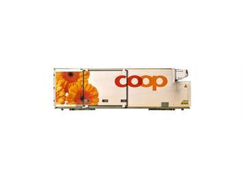 "Bemo 9469 110 Coop-Container ""Gerbera"" auf Stützen WAB 25 Om"