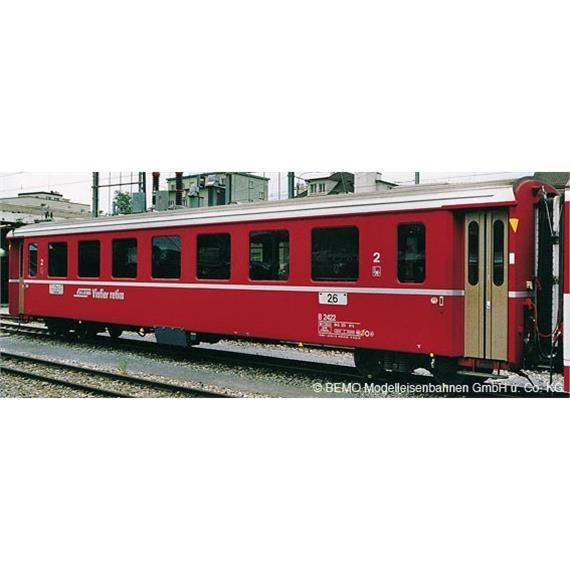 Bemo RhB AB 1568 EW II rot (für NEVA Pendel)