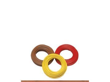 Brawa 3210 Einzelader 0,25 qmm, 25 m, gelb