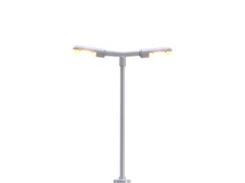 BRAWA 83002 LED-Bahnsteigleuchte mit Stecksockel N