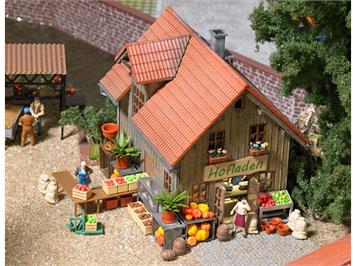 Busch 1075 Hofladen-Ausgestaltung HO