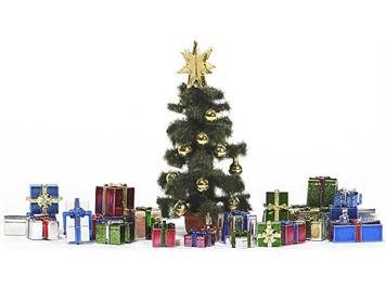 Busch 1140 Weihnachtsgeschenk-Set, H0