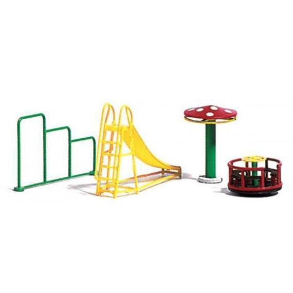 Busch 1163 Spielplatz Geräte HO