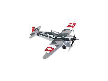 Busch 25017 Flugzeug Bf 109 G6 Schweiz HO